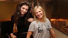 Image for Lorde joins Jo Whiley in the studio