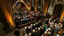 Image for Calon Lân - The congregation of Llandaff Cathedral