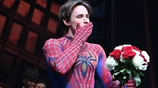 Image for Spider-Man musical 'cursed by the gods'