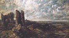 John Constable Sketch for 'Hadleigh Castle'