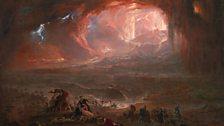 John Martin The Destruction of Pompei and Herculaneum 1822