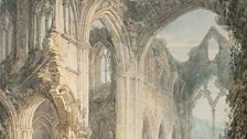 JMW Turner, Tintern Abbey: The Crossing and Chancel, Looking towards the East Window, 1794