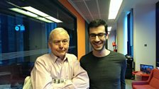 Image for John Humphrys and beatboxer Shlomo's Bolero duet