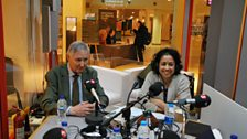 Archie Brown and Samira Ahmed