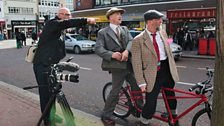 Tweed cyclists