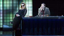 Sarah Tynan as Manon Lescaut and Jason Bridges as Armand des Grieux