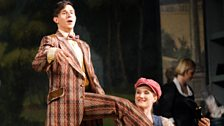 Paul Schweinester as Brighella and Jane Archibald as Zerbinetta