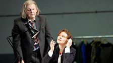 Thomas Allen as A Music Master and Ruxandra Donose as The Composer