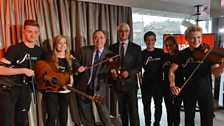 Salmond, Darling and Fèis Rois (14 September)