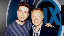 Image associated with Nick chats to Graham Norton, plus Chris Evans talks about the BBC Music Awards!