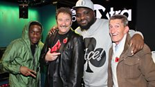 Image associated with Ace sits in for Twin B and Yasmin with 1Xtra's breakfast show. Chuckle Brothers & Tinchy.