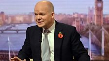William Hague MP, Leader of the House of Commons