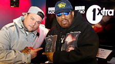 Image associated with Afrika Bambaataa drops by the studio and picks his favourite tracks for Charlie.