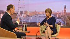 Nicola Sturgeon, First Minister of Scotland & SNP leader