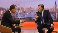 Ed Balls MP, Shadow Chancellor of the Exchequer