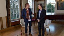 When Andrew met Ray Davies