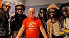 Image associated with No Maddz are in session from Big Yard Studio in Jamaica, plus Best of British continues.