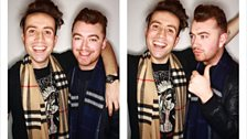 Sam Smith talks to Grimmy about The Brits, his new music and... water temperature.