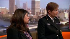 Helen Ball, Deputy Assistant Commissioner, Metropolitan Police and Kalsoom Bashir, Co-director of Inspire