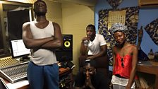 See what happened when Twin produced a track with Stormzy, JayVades and Jojo Abot!