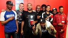 Sheer madness in the 1Xtra studios as the brightest and the best of grime converge.