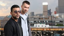Kid Fonque &D Malice go Back 2 Back in the first of our new African in the House series!