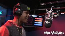 Mr Vegas is in the studio with a freestyle for Seani B and 1Xtra's MC Month.
