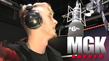MGK delivers his first Fire in the Booth for Charlie Sloth on 1Xtra.