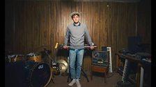 American mutli instrumentalist Day Wave plays at the BBC Maida Vale Studios for Radio 1
