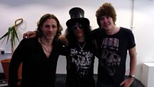 Jamie Stangroom meets Slash