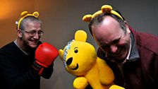 Show your spots for the Children In Need Presenters' Quiz - Richard Gordon v Jamie MacDougall