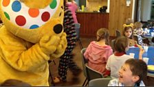 Pudsey Bear in Lincolnshire
