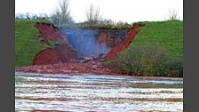 Flash flooding across Devon 21/11/2012