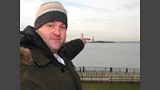 Chris Moyles goes to New York