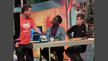 Scott on Blue Peter