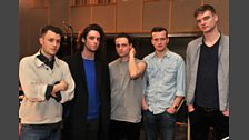 15 Mar 12 - The Maccabees in the Live Lounge