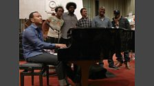 John Legend and The Roots in session