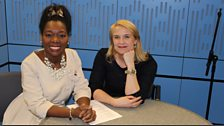 Baroness Floella Benjamin and Sarah Walker