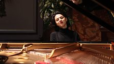 Khatia Buniatishvili rehearses at Wigmore Hall
