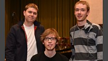 GoGo Penguin In Session At Maida Vale