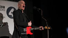 Wilko Johnson at Maida Vale Studios