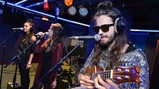 Crystal Fighters in the Live Lounge late