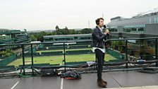 Live from Wimbledon!