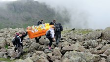 The DFS Three Peaks Sofa Challenge for BBC Children in Need