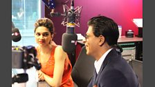 Shahrukh Khan and Deepika Padukone visit the show
