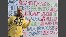 Tommy Sandhu at the Edinburgh Fringe Festival