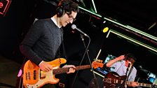Dan Croll in the Live Lounge