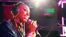Laura Mvula in the Live Lounge