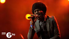 Chronixx at 1Xtra Live 2013