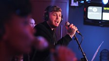 James Arthur in the Live Lounge